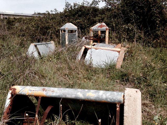 Santa Marinella, raccoglitori abbandonati