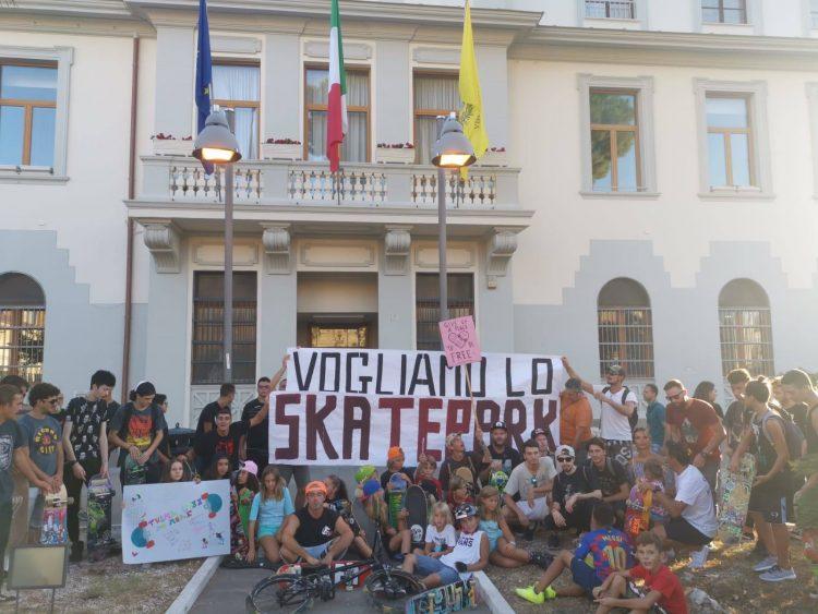 Skate park: flash mob al Pincio