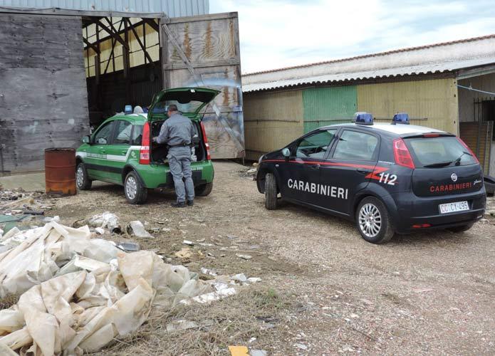Carrozziere abusivo scoperto dai Carabinieri