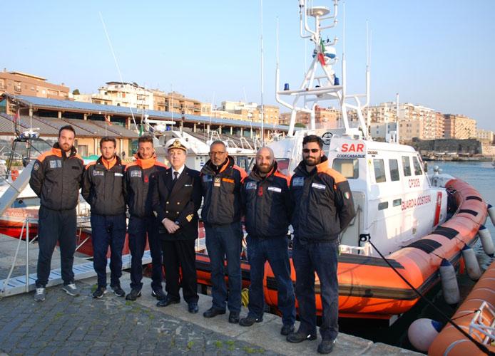 Cp305: salvati circa 400 migranti a Lampedusa