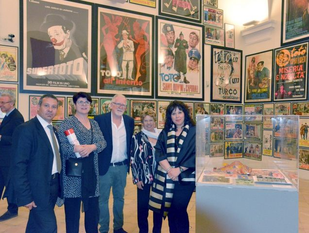 ''Santa Marinella Viva'' presente all'inaugurazione della mostra ''Totò Genio''