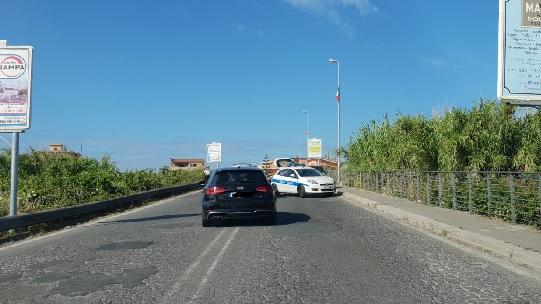 Incidente sulla Settevene Palo, traffico in tilt