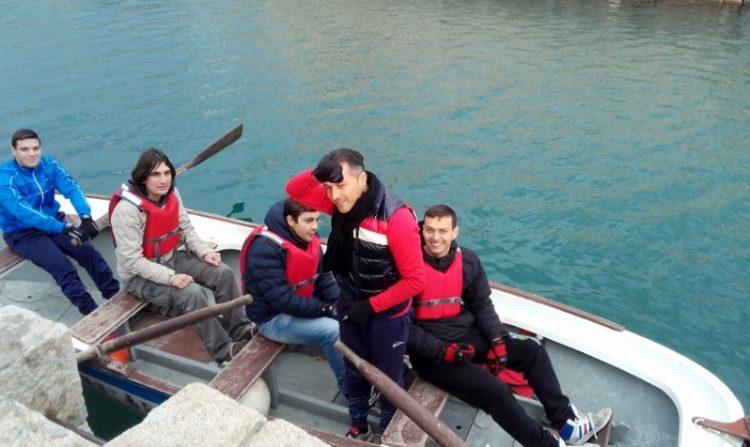 Palio marinaro: giornate di allenamenti per alunni e professori del Nautico