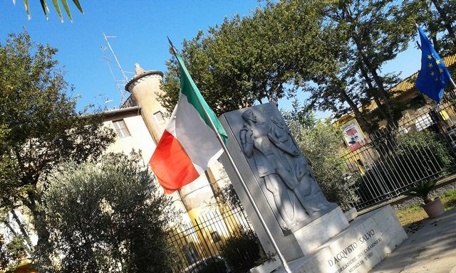 Salvo D'Acquisto,borgo di Palidoro (foto Rosario Sasso)