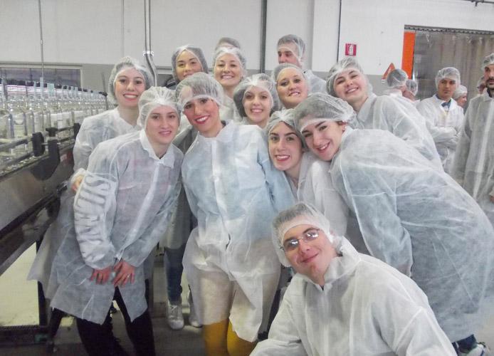 Istituto Baccelli in visita alla Molinari