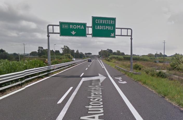 A12, chiude per due notti consecutive lo svincolo Cerveteri – Ladispoli