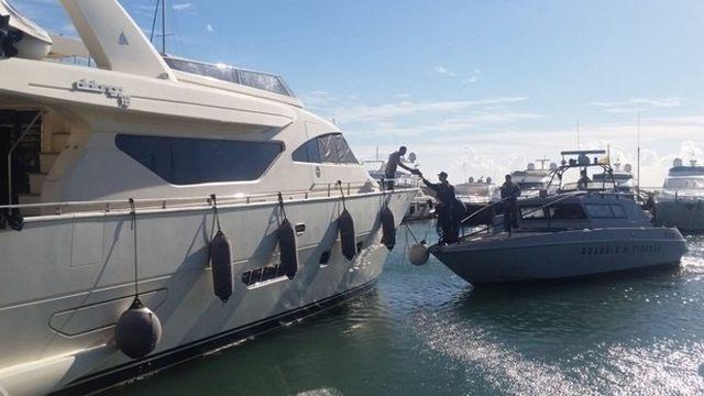 Navi fantasma nel mirino del Roan della Gdf di Civitavecchia