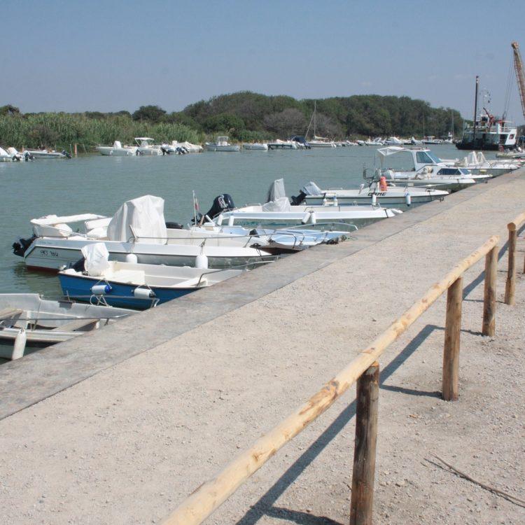 Terminati i lavori di rifacimento della sponda del fiume Fiora