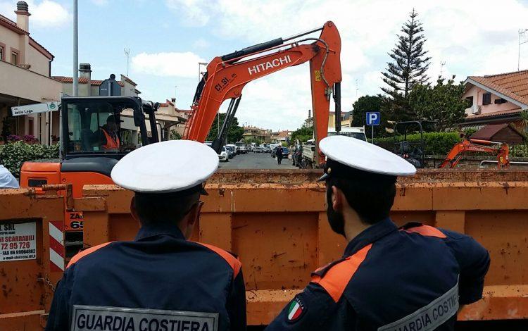 Scarichi abusivi in via della Lega, Amministrazione in coordinamento con la  Guardia Costiera