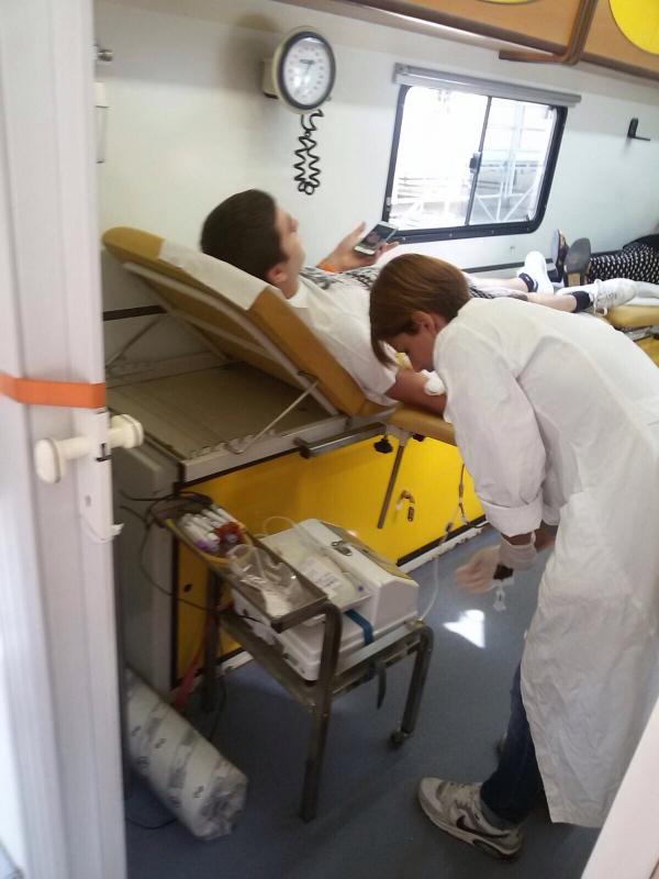 Avis, l'attività non si ferma: attiva l'automedica per la raccolta sangue