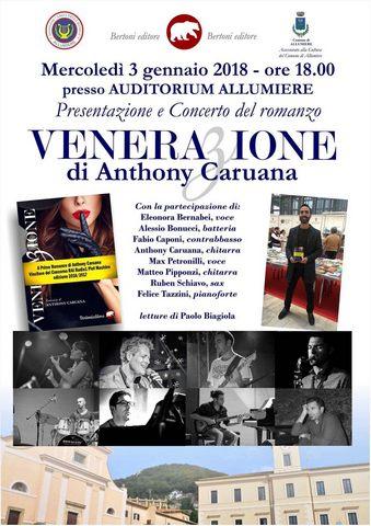 Un concerto-presentazione oggi all'Auditorium di Allumiere