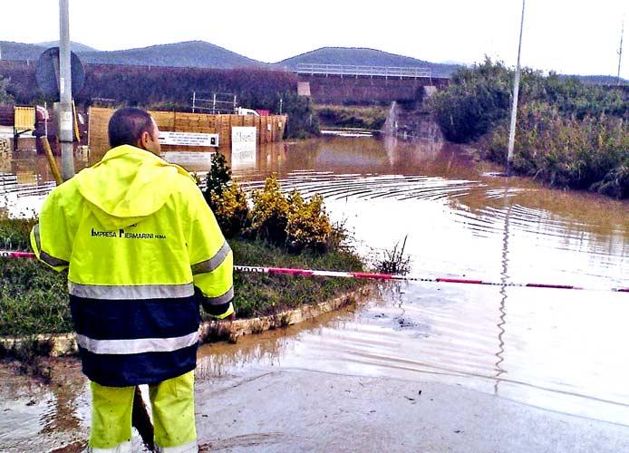 Nubifragio: chiesta la calamità naturale