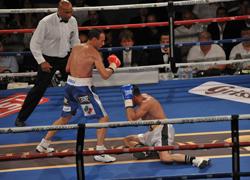 Solo il campione sul ring