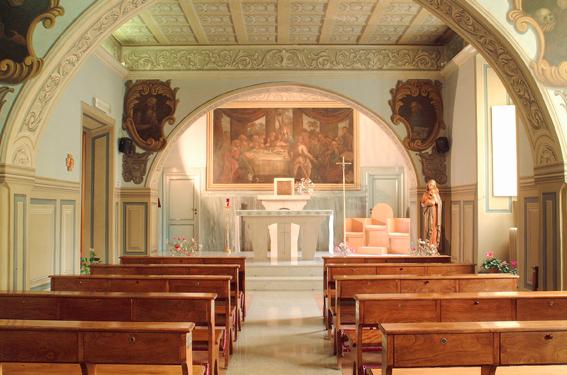 La cappella del Bambin Gesù di Palidoro una delle quattro Porte Sante della Diocesi di Porto- Santa Rufina
