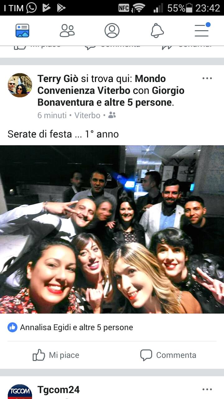 Mondo Convenienza,su Fb un post con i festeggiamentidi Viterbo. Lavoratori di Tarquinia offesi: ''Di cattivo gusto''