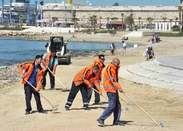 Alla Marina arriva la sabbia certificata