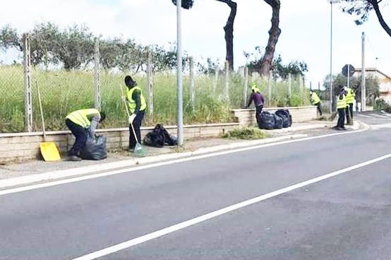 Aranova, migranti in azione
