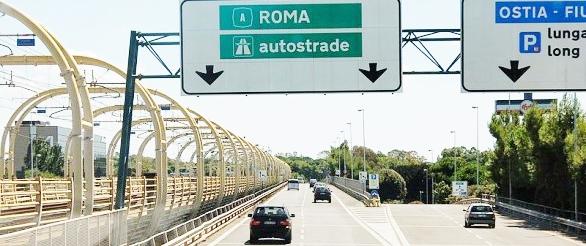 Roma-Fiumicino chiusa al traffico