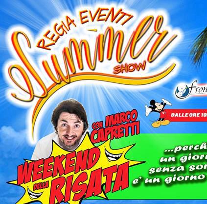 Summer Show nel centro storico fino a Ferragosto