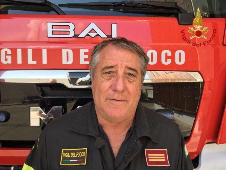 Vigili del fuoco: a comando del reparto arriva Sandro Mori