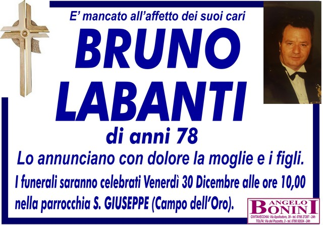 BRUNO LABANTI