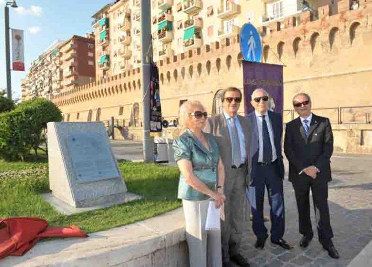 Inaugurato nel porto il cippo  in ricordo della Bocca di Levante