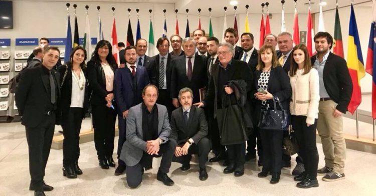 Bruxelles, amministratori locali in trasferta da Tajani