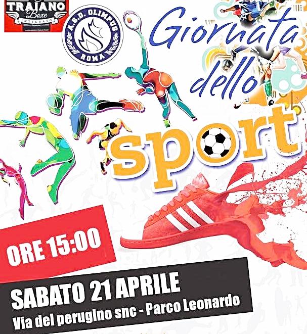 Parco Leonardo, una giornata per lo sport