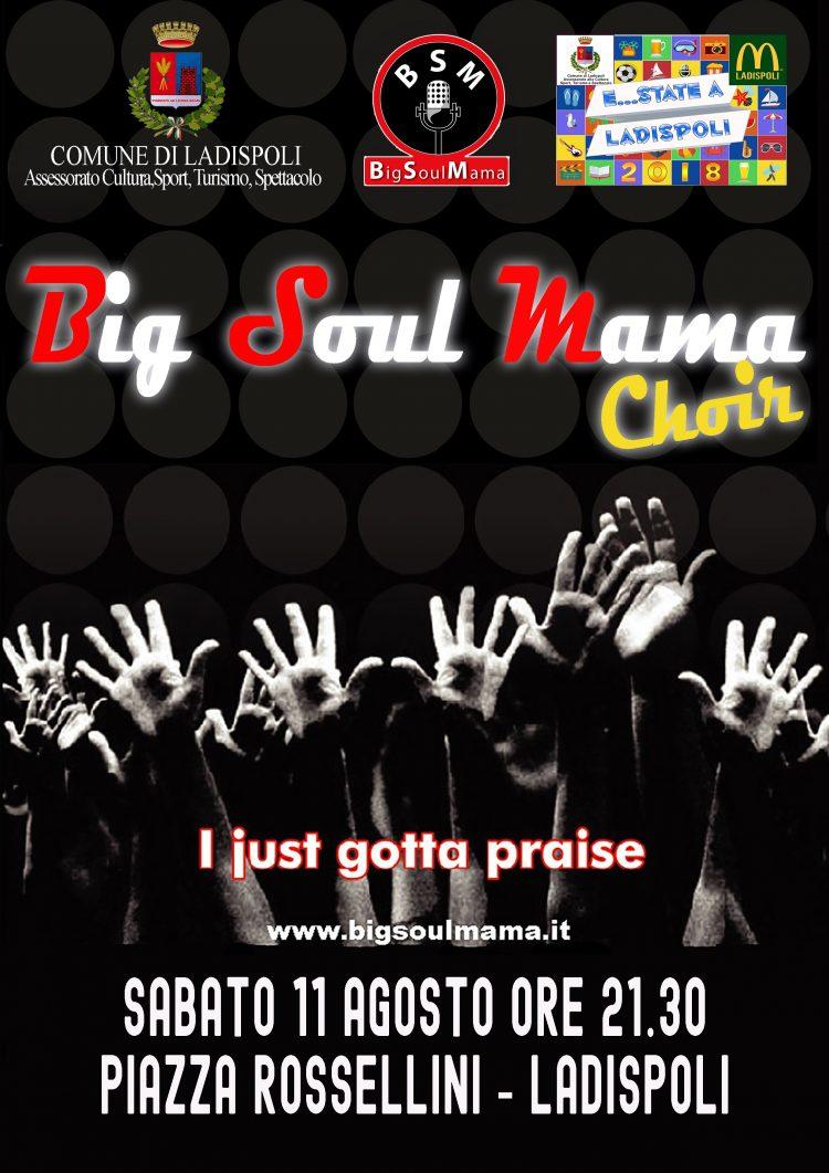 Ladispoli, grande musica in piazza con la Big Soul Mama Band