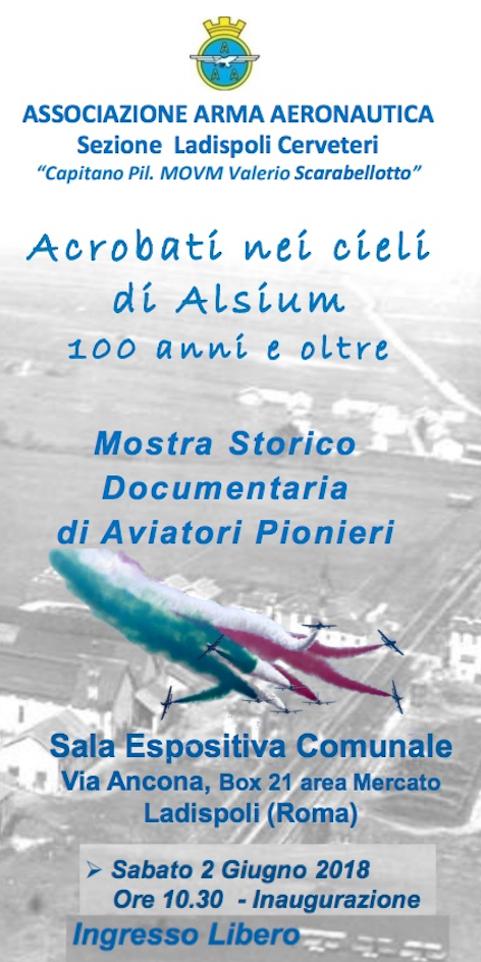 ''Acrobati nei cieli di Alsium. Cento anni e oltre''