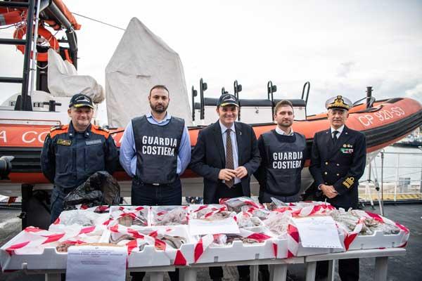 Operazione Confine illegale: guardia costiera a tutela del made in Italy