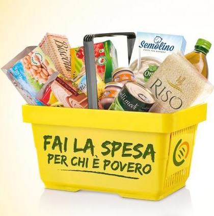 Valcanneto: raccolta alimentare presso il supermercato Il Poggio in via Antonio Vivaldi