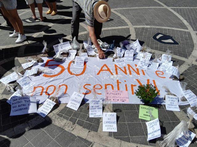 """San Giorgio, i residenti: """"Non siamo cittadini di serie B"""""""