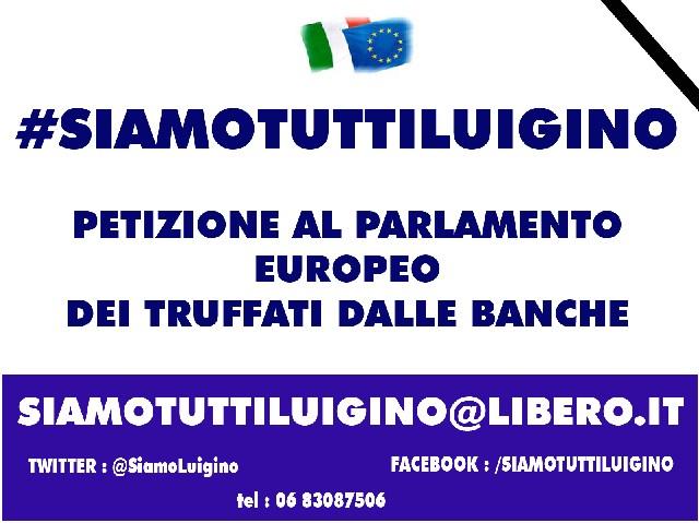 Parte la petizione #siamotuttiluigino