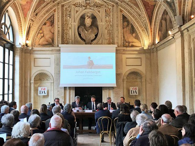 Italia-Norvegia, Tolfa protagonista a palazzo Firenze