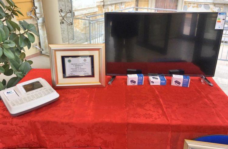 Ospedale Tarquinia, Comune e Lions donano nuovo materiale