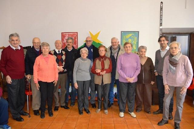 Visita del sindaco Mazzola al centro malati di Alzheimer