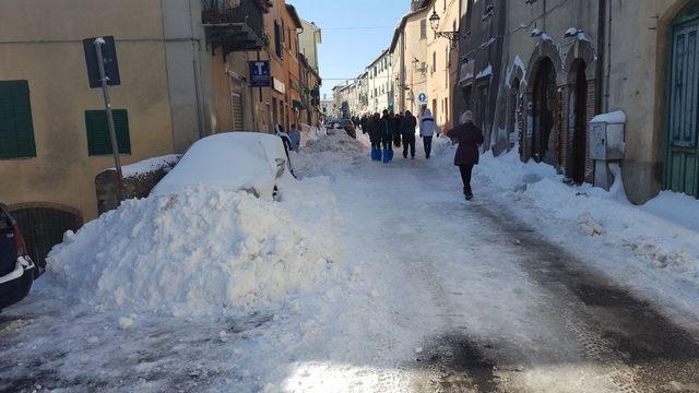 Emergenza maltempo: a Tolfa si lavora per liberare la viabilità