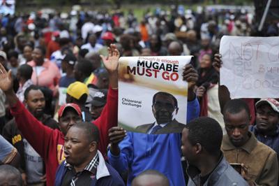 Lo Zimbabwe contro Mugabe