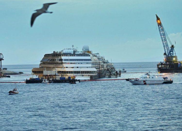 Concordia, istituzioni unite sul porto