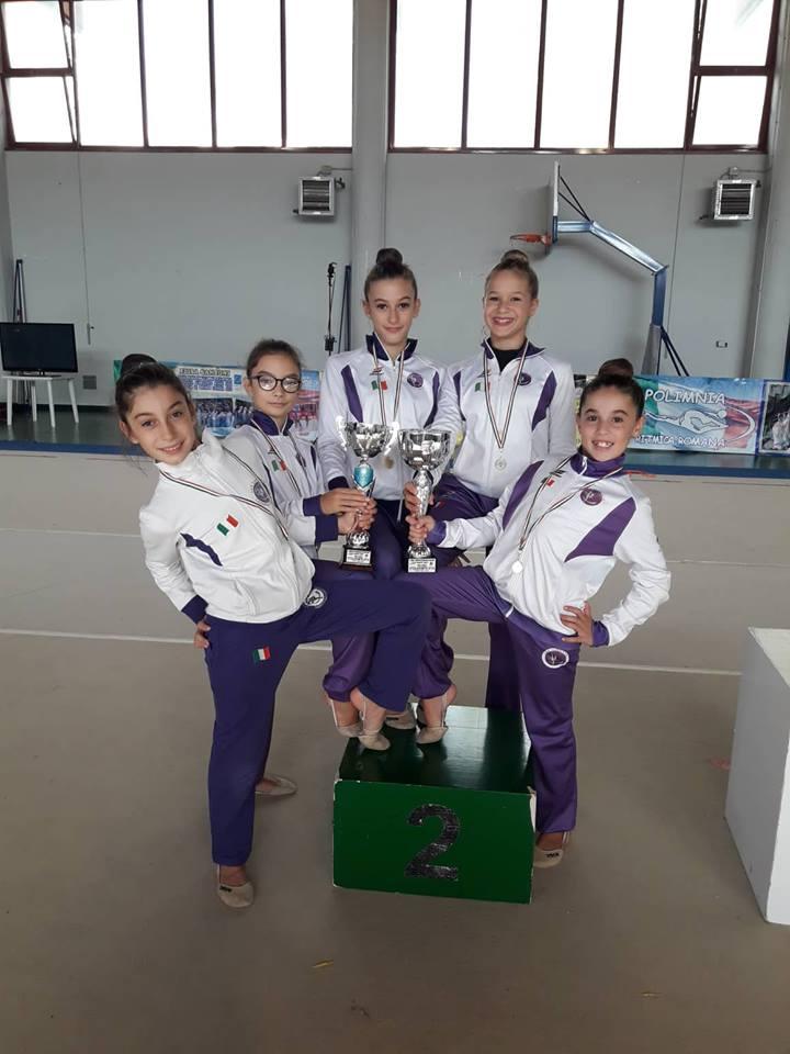 Elana Gym seconda ai campionati regionali