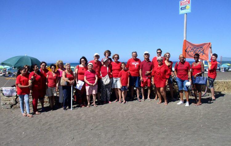Campo di Mare si tinge di rosso per riaccendere l'umanità