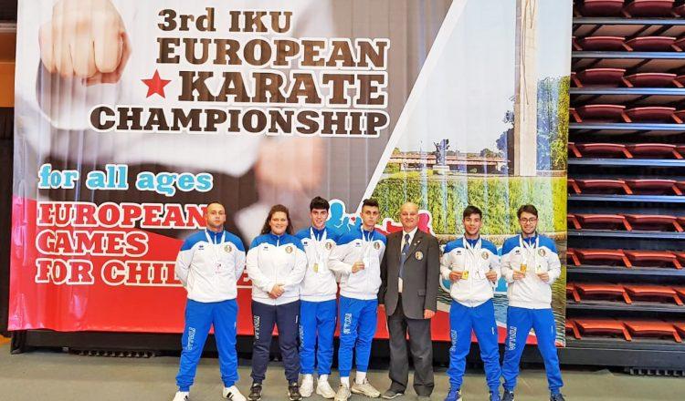 La Meiji Kan fa il pieno di medaglie ai campionati europei Iku di Russia