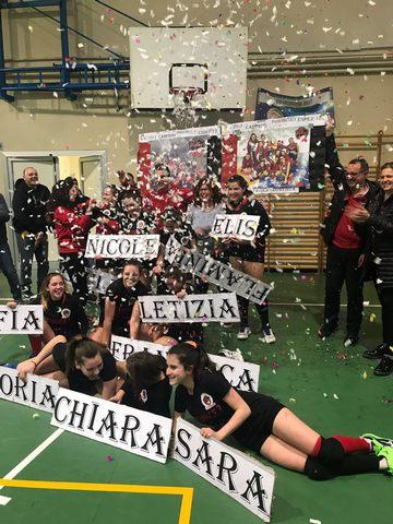 La Cv Volley campione con l'under 13