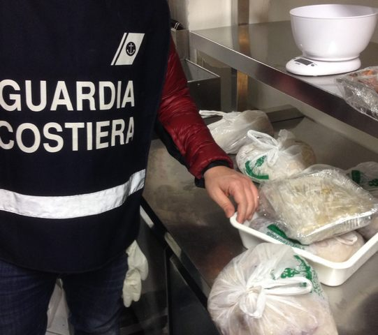 La Guardia costiera dichiara guerra  ai prodotti ittici non sicuri