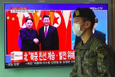 Kim incontra Xi