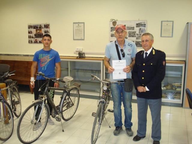 Polizia ferroviaria: donate sette biciclette ad associazioni di volontariato