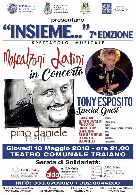 """Al Traiano settima edizione di """"Insieme"""" con Mascalzoni latini"""