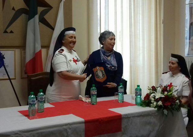 Cri, l'ispettrice nazionale delle infermiere volontarie ospite d'onore