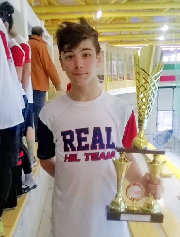 Chapeau Marco Stefani: oro under 18  con il Real Torino